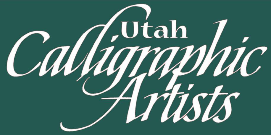 UTAH CALLIGRAPHIC ARTISTS   Home